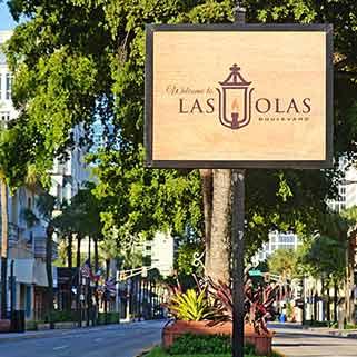 Las Olas Sign
